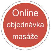 Online objednávka masáže